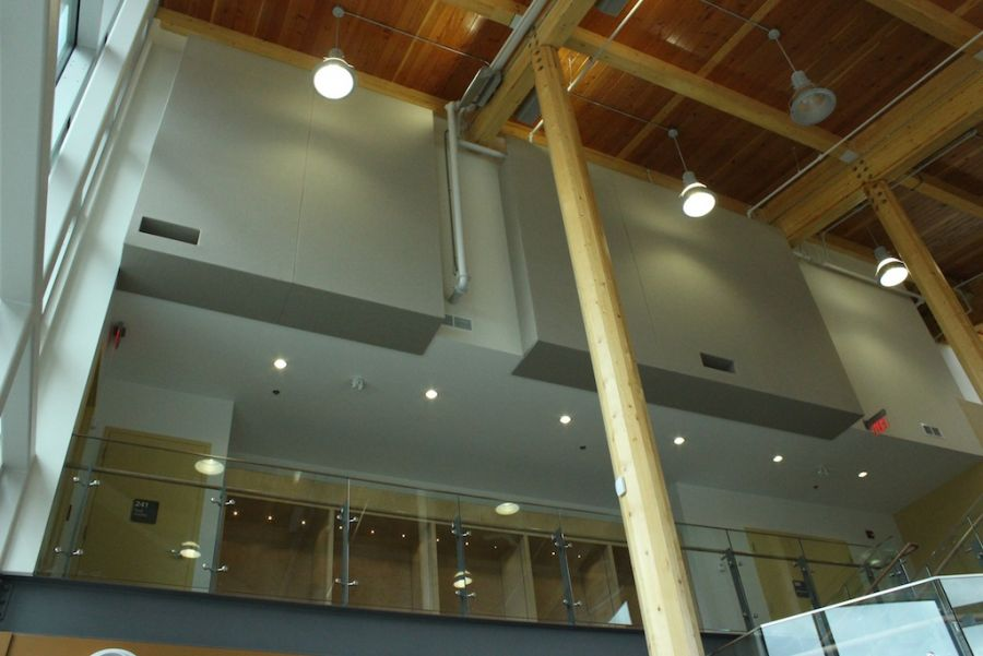 North West Community College : Acousti-trac - Finished panels